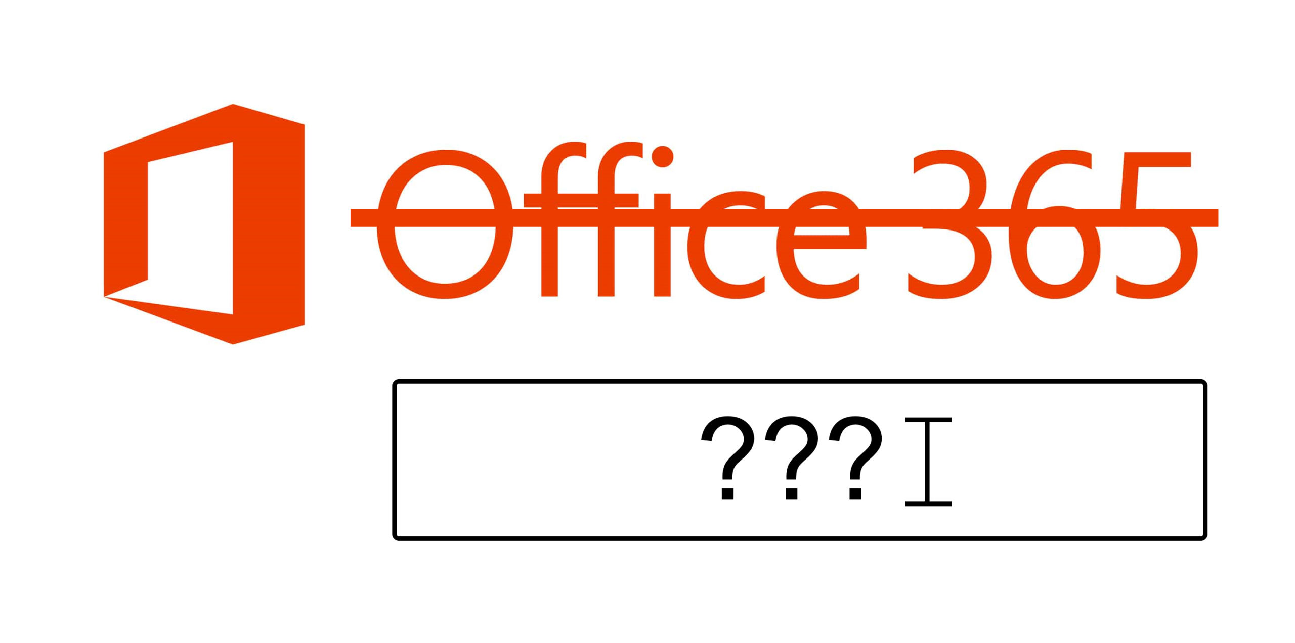 Office rename